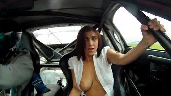 Big tits drifting