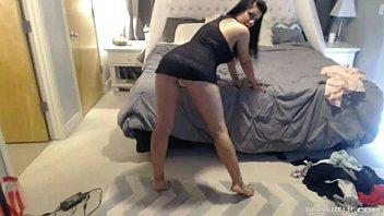 Abbie Lee, Annie Lee  Webcam Threesome Action