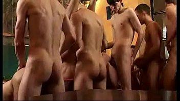 Gay Assfeeders Gangbang 1h 17 min