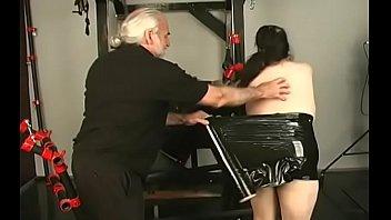 Big boobs babe hard fucked in extreme servitude xxx scenes