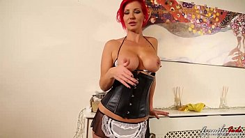 Jennifer Jade Taboo strip as a sexy maid