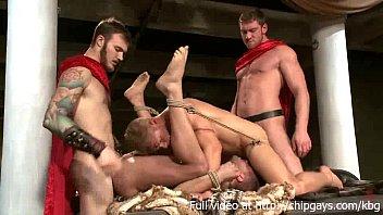 Hot guys bondage orgie
