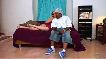 Ebony Girl Is Fucked By A Big Black Penis
