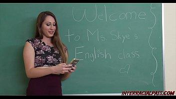 xxarxx المعلم السابق نينا سكاي يحب القضيب الأسود الكبير