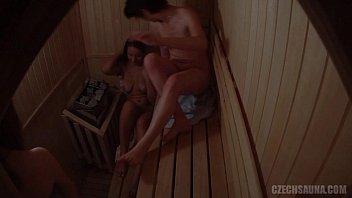 Three Hot Girls Have a Fun in Pool´s Sauna