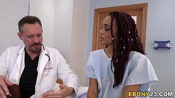 Busty Ebony Julie Kay Having Group Sex In Hospital  #1138964