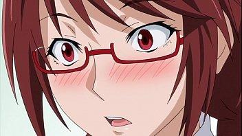 【アニメ】セクシーな巨乳彼女にストッキング足コキされてすっげぇ興奮してチ○コバキバキ!