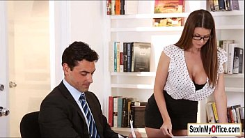 Glasses wearing office babe Brooklyn Chase taking cumshot on big tits № 1608356 бесплатно