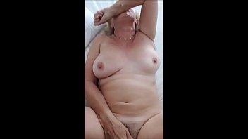 60 Year Old Granny Loves Cock - Homemade horny granny