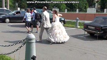 Banging young russian girlfriend outdoors
