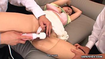 Pelacur istri Asia terbentur sekali daun hubby