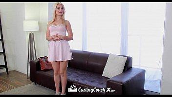 cover video  X Petite Blonde Aubrey Gold Trie