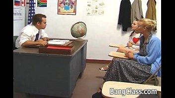 Schoolgirl gets naked and fucked hard Thumb5