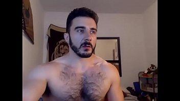 naked hairy men solo