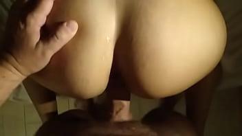 Esposa BBW dando a buceta apertada