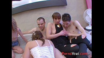 thumb Orgy Partouze French Amateur