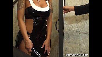 thumb British Slut Victoria Brown As Nun Gets Fucked And Huge Facial