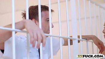 thumb Huge Juggs Prisoner Analyzed By Officer