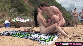 Cutie fucking a stranger at the beach  #85770