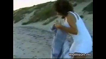 xxarxx إبن، اضطر لهوا، ب، له، أخت، أيضا، أم، على الشاطئ