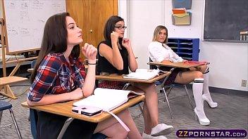 thumb Teacher Needs To Discipline This Little Lesbian