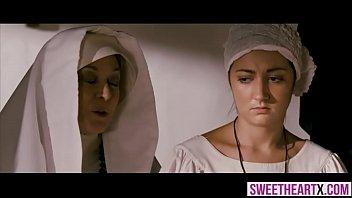 thumb Innocent Hot Nuns Cant Resist Their Lesbian Temptation
