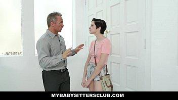 thumb Mybabysittersclub Cute Babysitter Paid In Cum