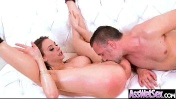 Vídeo pornô com a branquinha no anal
