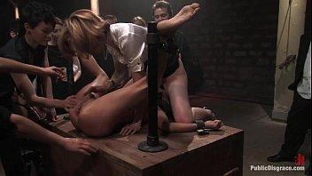 Humiliating anal sex