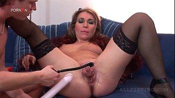 thumb Blonde Slut Vacuuming Cunt Gets Butt Dildoed