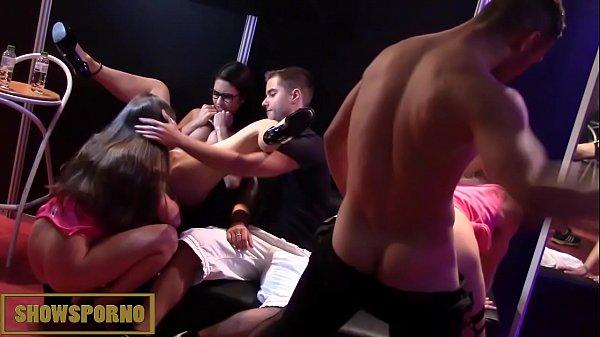 Spanish pornstars hot orgy 18 min HD