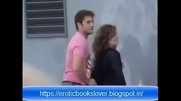 European Public Outdoor Sex