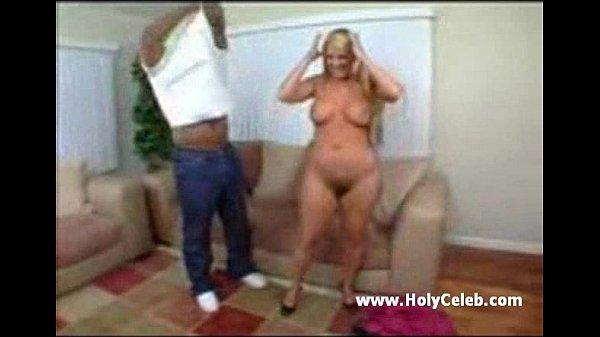 Blonde MILF Hairy Pussy wants Black Dick