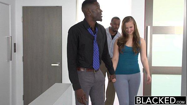 BLACKED Minnesota Teen Tries First Interracial Threesome