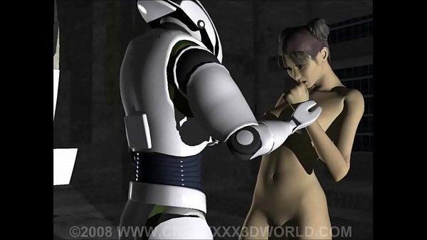 Порно мультик про робота падростка