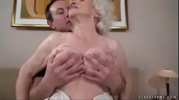 Granny and grandson