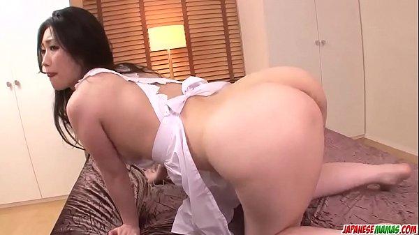Naomi Sugawara enjoys cock in the ass and pussy - More at Japanesemamas com