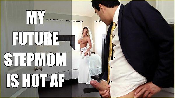 BANGBROS - Bride MILF Brooklyn Chase Fucks Her Step Son On Wedding Day!