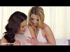 Loreen and Vanessa Decker in a sensual lesbian scene by Sapphic Erotica
