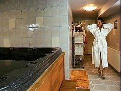 Angelica Bella - Hard Anal On Sauna