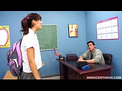 Student Audrianna Angel sucks off her profs Thi...