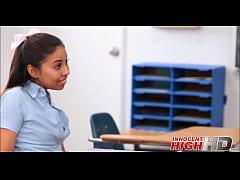 High School Girl Caught Masturbating In Detention