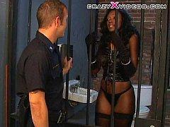 black prisoner fucked by guard