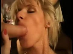 MOM Blonde MILF takes his length