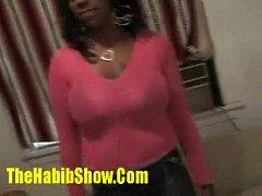 38DDD Black Barbie Fucked in da hood p1