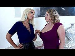 MILF pornstars Bridgette B and Maggie Green eat lesbian pussy on couch № 780886 без смс