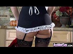 Anal Hardcore Sex With Big Curvy Oiled Butt Slut Girl (syren de mer) mov-27