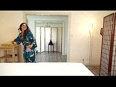 Seducing a married woman in the spa - Aspen Rae...