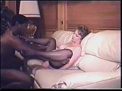 1994 Video of Swinging Wife sucking Black cock