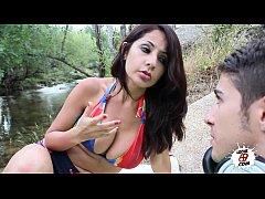 Unfaithful Wife with teen guy - Susana Alcala - Milf busca jovencito
